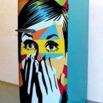 холодильник поп-арт