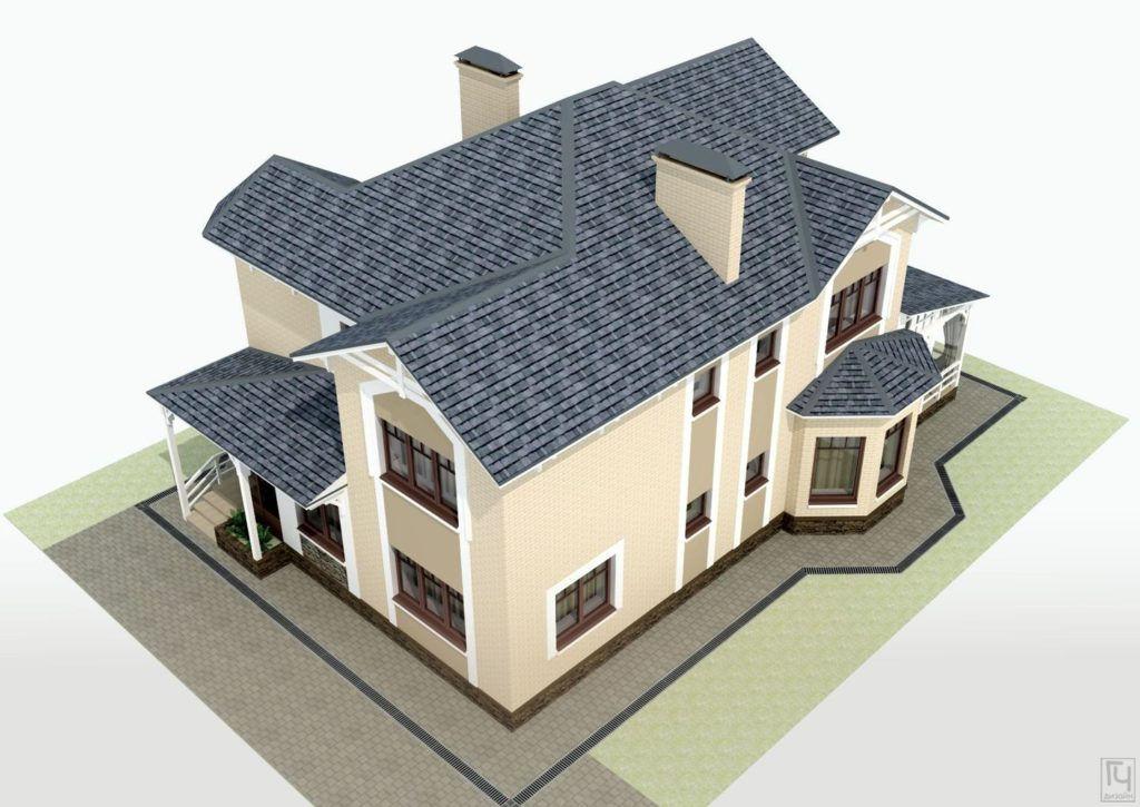 3D вид дома