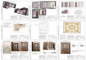 Листы дизайн-проекта