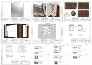 Эскизы мебели