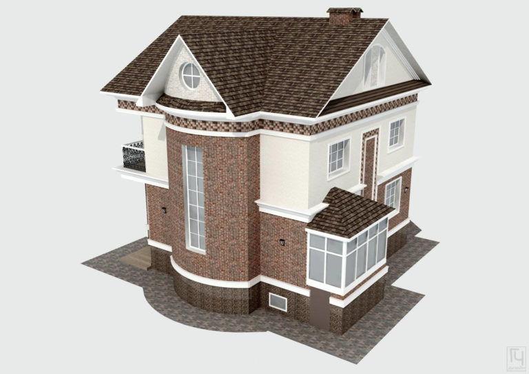 3D-визуализация дома