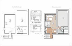 План перестройки цокольного этажа