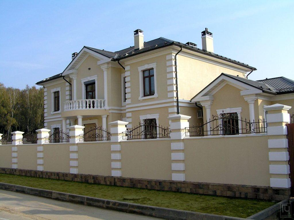 Архитектурное проектирование - Дом в классическом стиле