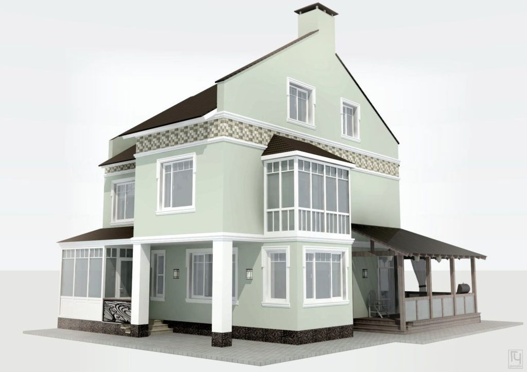 Проект реконструкции дома