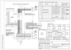 Спецификация монолитных стен