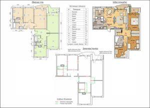 Объединение квартир в панельном доме