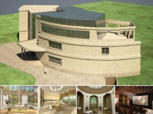 Дом в органическом стиле. Визуализации
