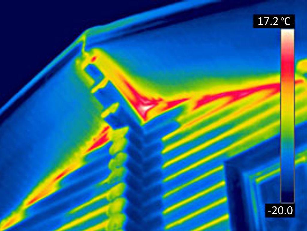 Тепловизионная съёмка дома