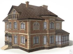 Декор дома из фибробетона