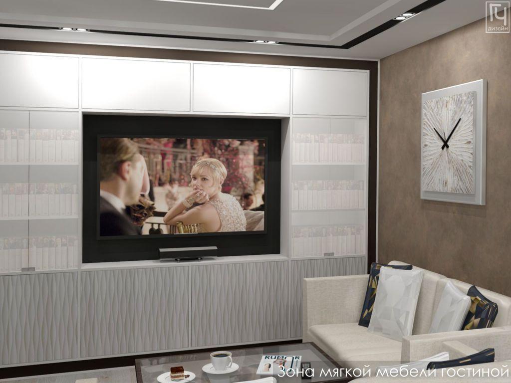 Мебель вокруг ТВ