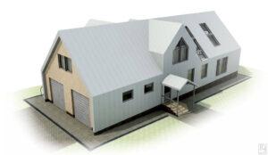 Фасады и крыша из кликфальц
