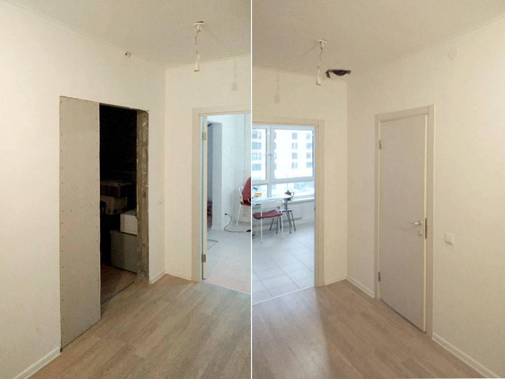 Фото исходного состояния квартиры